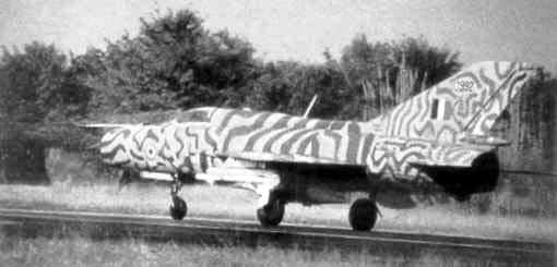 MiG-21 PF(later) INDIAN TIGER FUJIMI 1/72 C99210