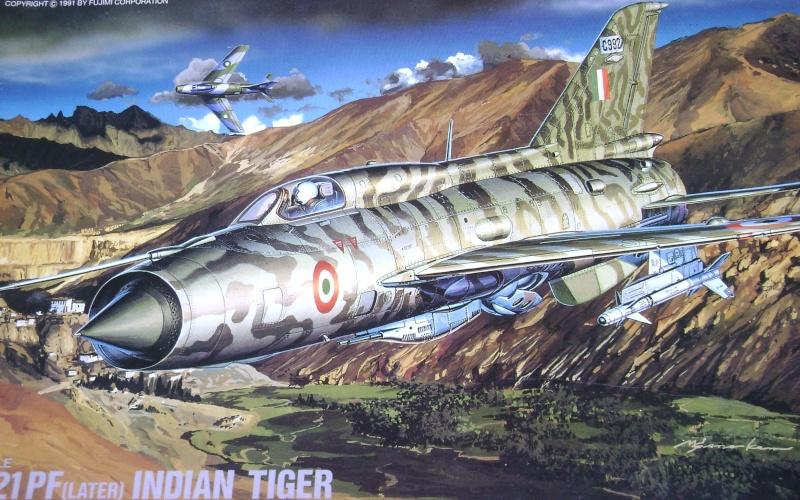 MiG-21 PF(later) INDIAN TIGER FUJIMI 1/72 Dsc00327