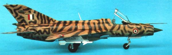 MiG-21 PF(later) INDIAN TIGER FUJIMI 1/72 Nig21f10