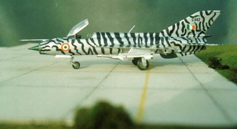 MiG-21 PF(later) INDIAN TIGER FUJIMI 1/72 Pm1610