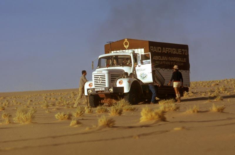 Les BERLIET et 2cv du RAID AFRIQUE 1973 Big-2710