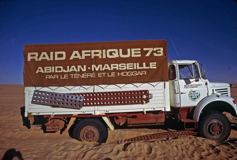 Les BERLIET et 2cv du RAID AFRIQUE 1973 Big-2711