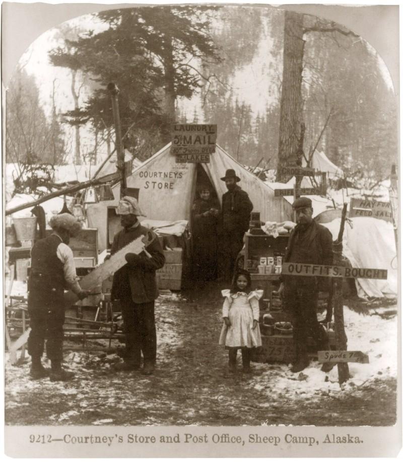 Fièvre de l'Or - Chilkoot Pass - Klondike - Yukon - Alaska 3a372010