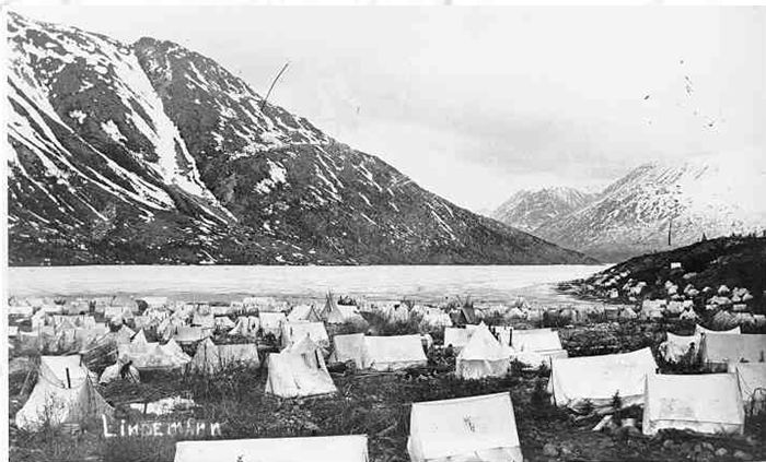 Fièvre de l'Or - Chilkoot Pass - Klondike - Yukon - Alaska Captu209
