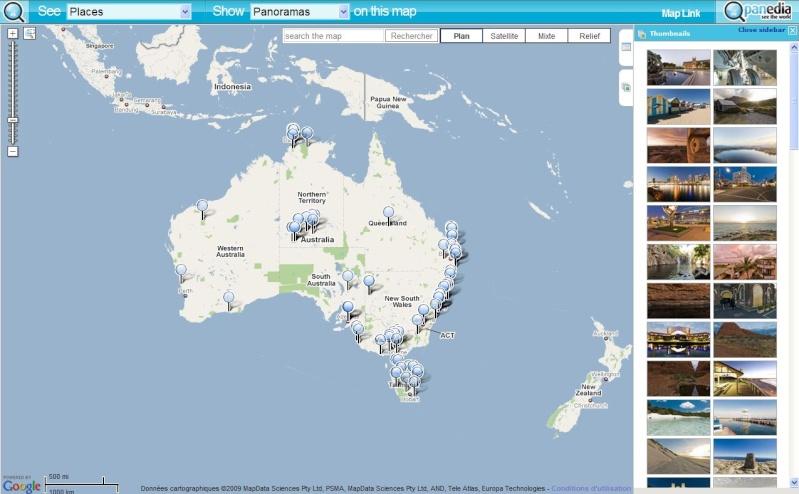 Les MASHUPS utilisant Google Maps - Page 2 Captur59