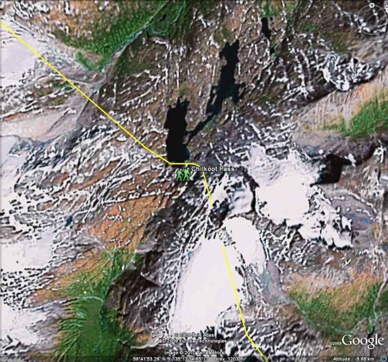 Fièvre de l'Or - Chilkoot Pass - Klondike - Yukon - Alaska Chi110