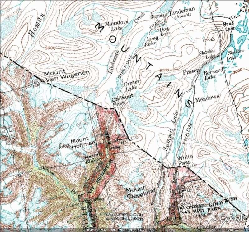 Fièvre de l'Or - Chilkoot Pass - Klondike - Yukon - Alaska Chi210