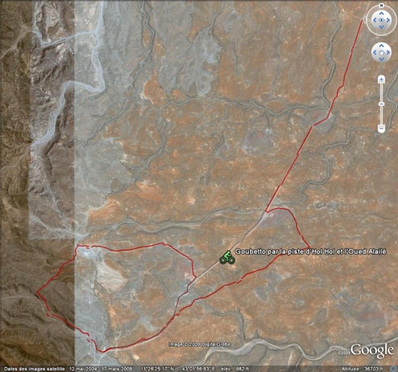 Utagawa VTT : 3323 itinéraires en VTT -  [fichier Traces GPS pour Google Earth] Djibou10