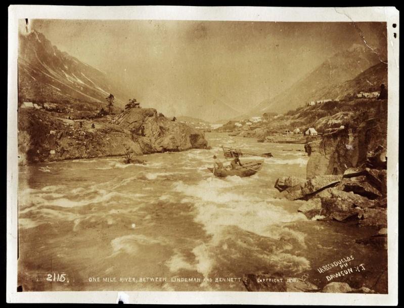 Fièvre de l'Or - Chilkoot Pass - Klondike - Yukon - Alaska P277_010