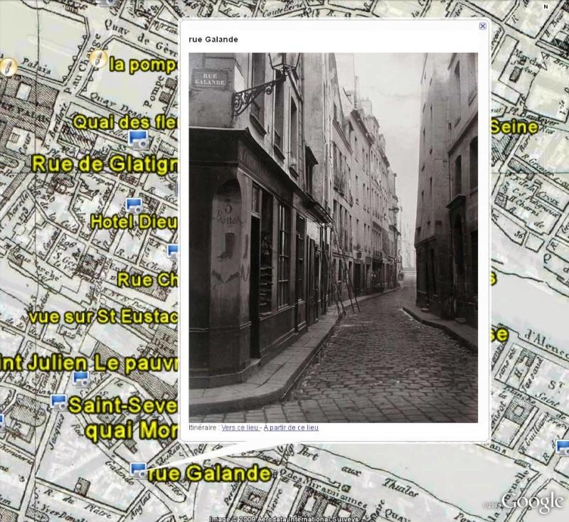 Paris en 1808 - Photos et tableaux - France [Surcouche / Overlay pour Google Earth] Paris_12