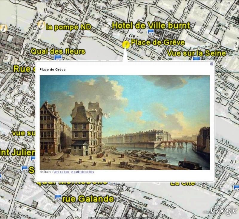 Paris en 1808 - Photos et tableaux - France [Surcouche / Overlay pour Google Earth] Paris_14