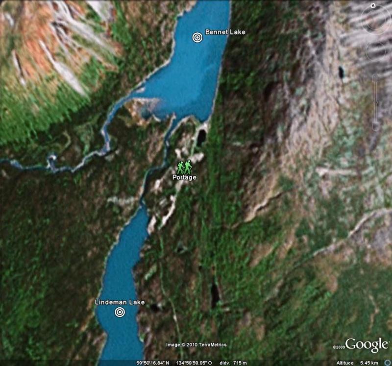 Fièvre de l'Or - Chilkoot Pass - Klondike - Yukon - Alaska Portag10