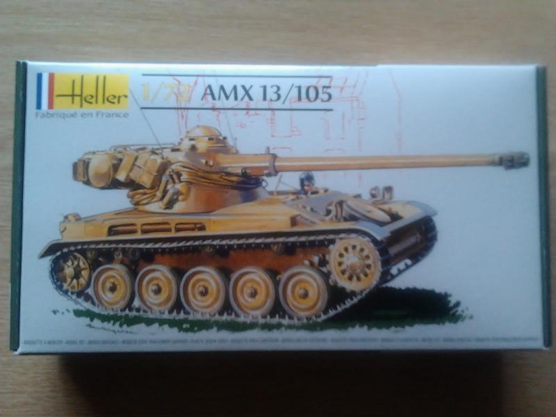 AMX-13 105 AM (version auto-moteur d'artillerie). [HELLER] 1/72. Montage sans suites 2013-010