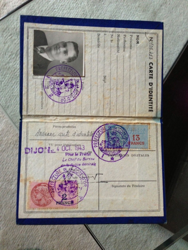 Mon Brassard FFI + faux papiers  Img_1025