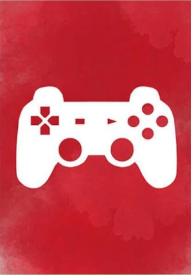 Chambre pré-ado rouge et grise Gamepa10