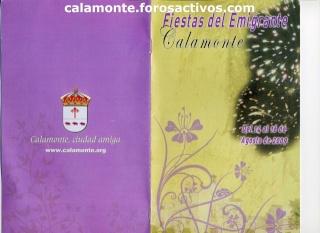 Programa de fiestas del emigrante 2009 de calamonte Img00010