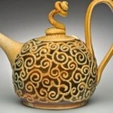 Studio Pottery Teapot, inscribed mark - Sarah Villeneau 63746_10