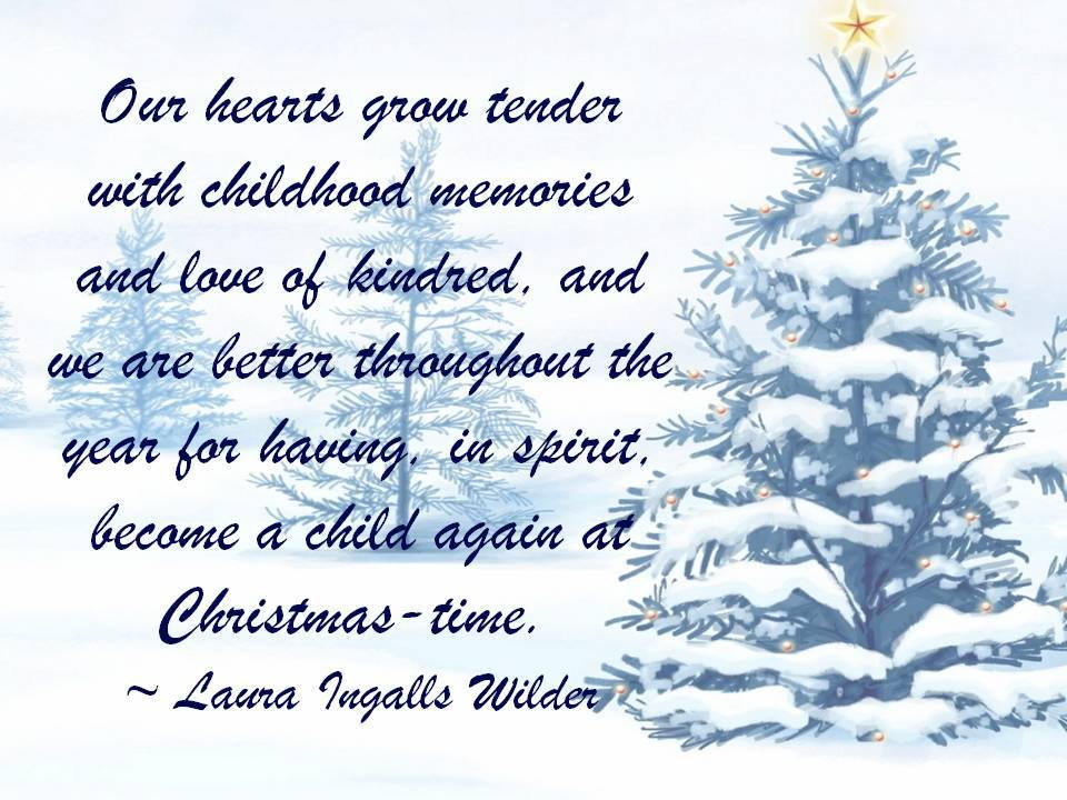A message from Laura Ingalls Wider Liw4610