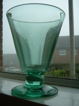 Large glass vase 00212