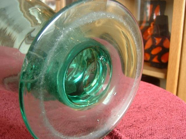Large glass vase 00511