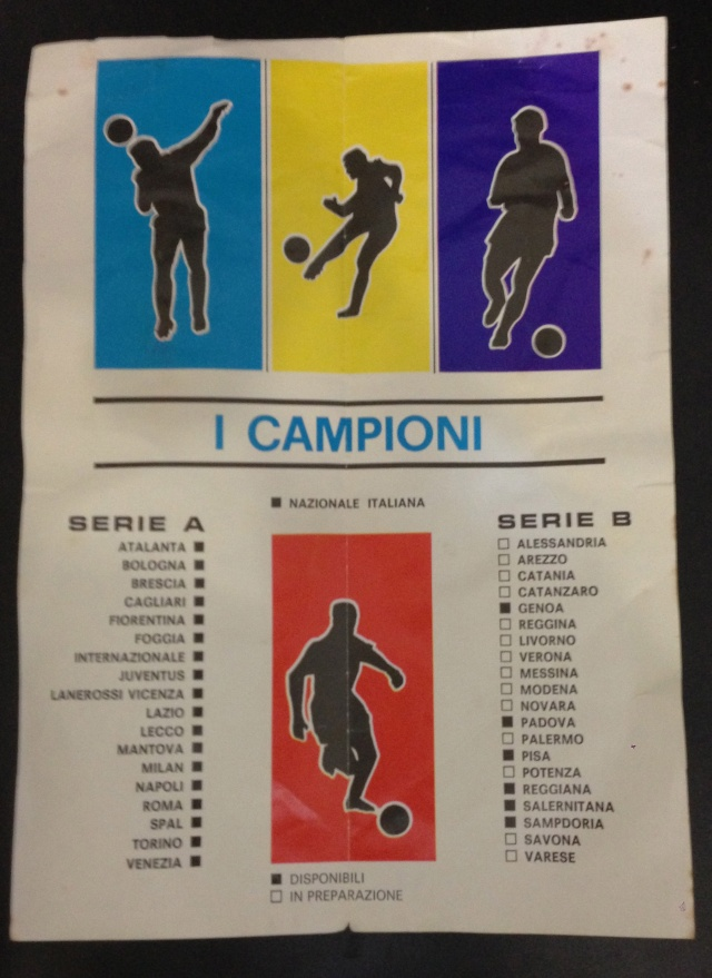 SCHEDA - I CAMPIONI BY BARAVELLI Barave15