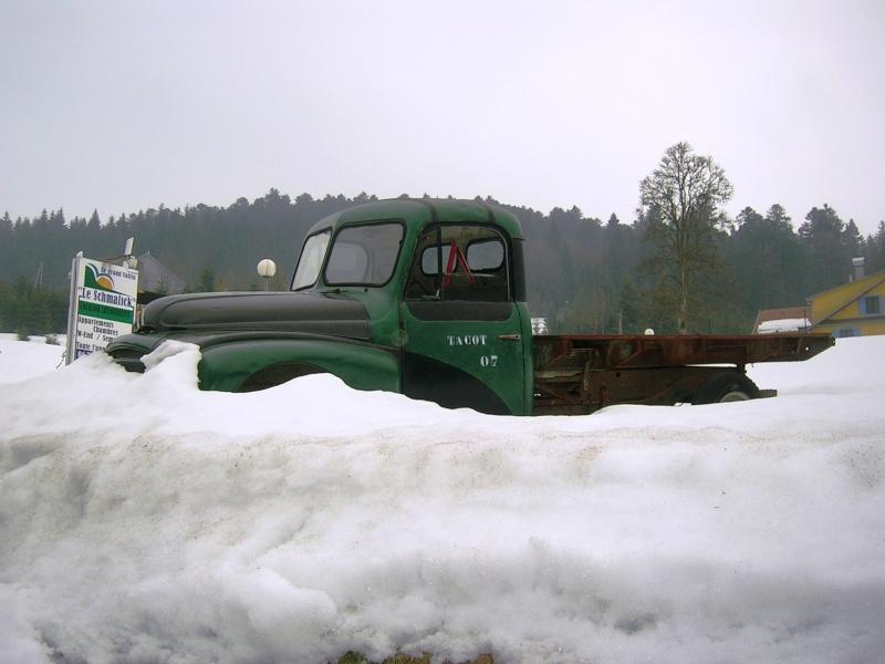 Utilitaire Citroën sous la neige Colroy10