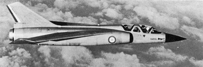 Des avions Dassault peu connus Mirage11