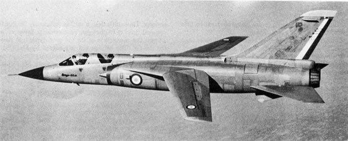Des avions Dassault peu connus Mirage13