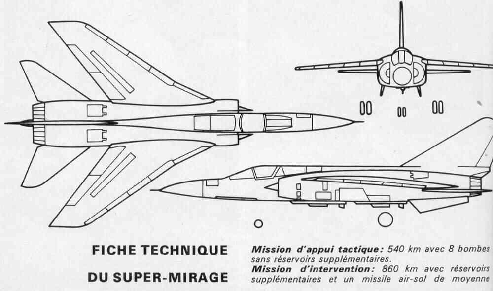 Des avions Dassault peu connus Superm10