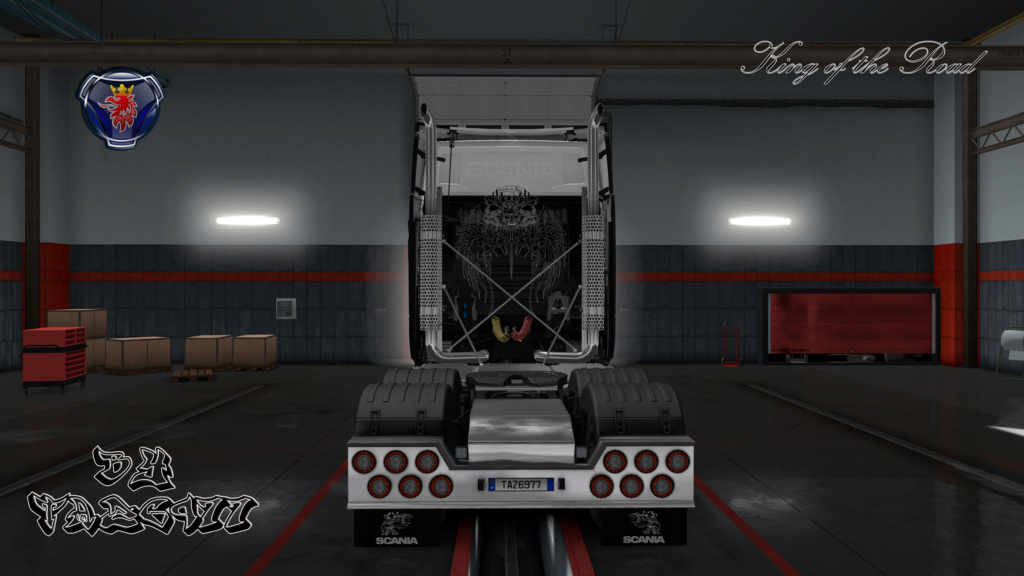SKIN : Scania S King of the Road 20180913