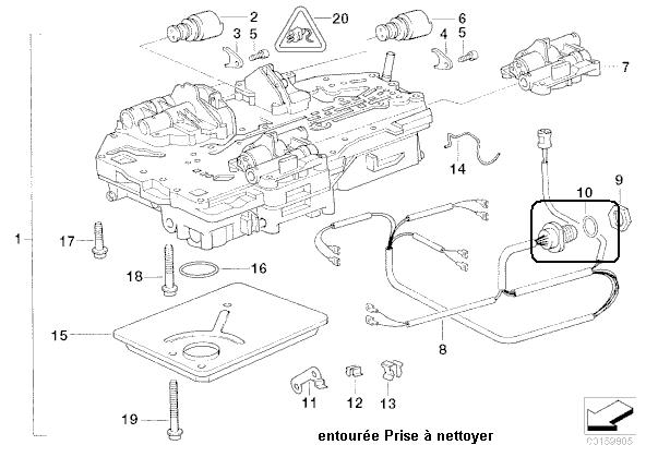 [ BMW E32 735ia an 1992 ] probleme boite automatique, la marche avant ne fonctionne plus (résolu) 24_73511