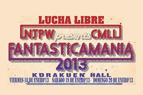 [Résultats] NJPW Presents CMLL FantasticaMania 2013 du 18, 19 & 20/01/2013 News8510