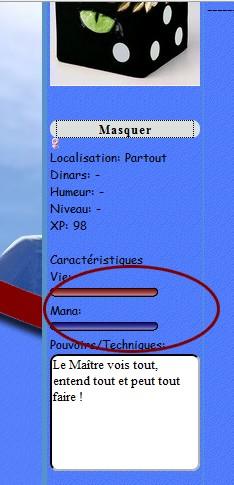 Profil/Feuille Perso - Valeur des barres non-affichés Probla10