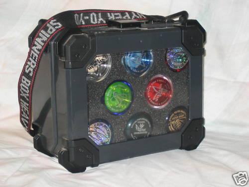 [CONCLUSA NON PARTEC.] ebay - 300382497093 - YO-YO'S / HYPER SPINNERS BOX (21) YoYo's - Pro-Set Case - Bichnk10