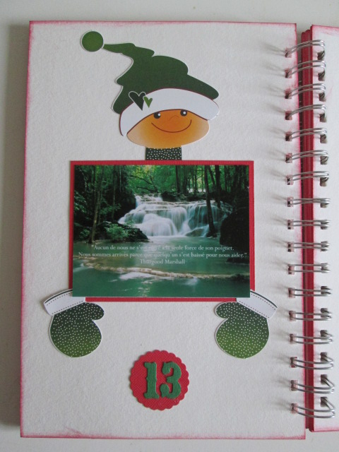 DECEMBER DAILY DE NICOLE : pages 10 et 11 Img_1010