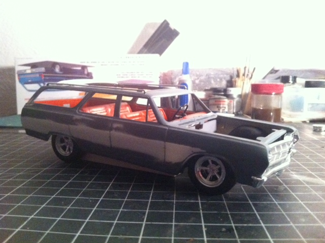 1965 Chevelle Station-Wagon Open-Air Mok210