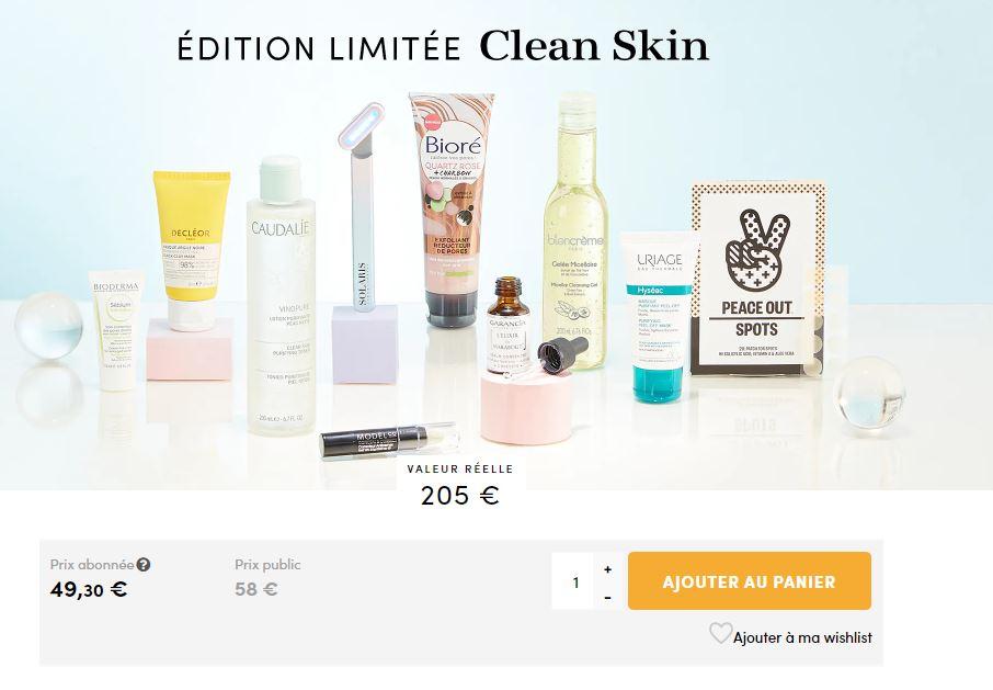 Edition limitée : Clean Skin Captur16