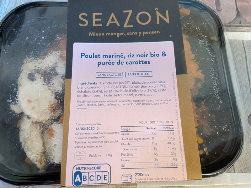 SEAZON : livraison de repas frais  Repas_10
