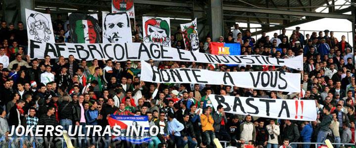 JOKERS ULTRAS, groupe de supporters Ultras de la JSMB 1110