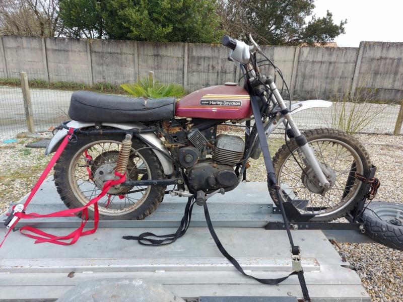 125 sx Harley Davidson 1974 20210112
