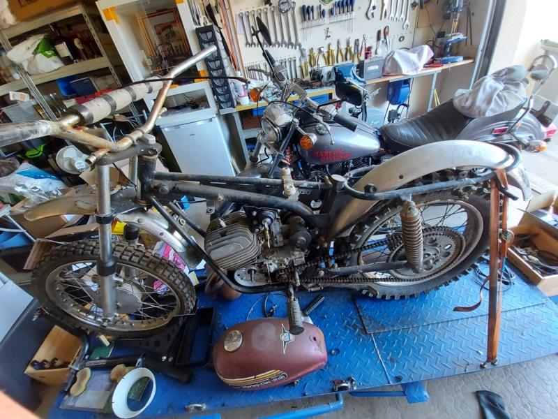 125 sx Harley Davidson 1974 20210410