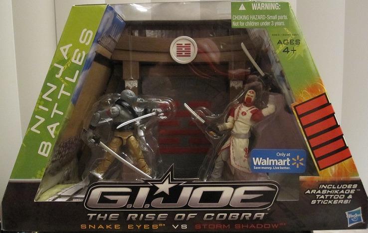 [Review] Joebattlelines : Walmart exclusive ninja battles Packag10