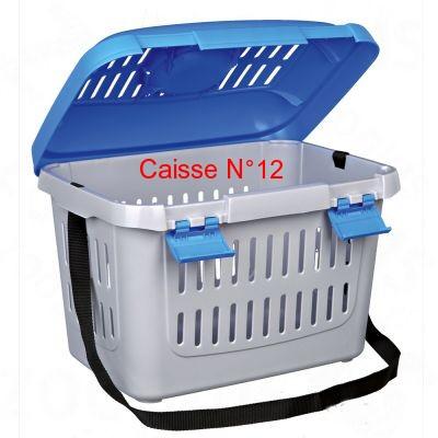 Mettre un chat dans une caisse de transport Caisse14