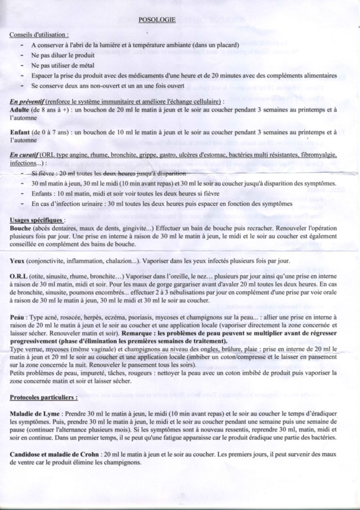 Usages de l'argent colloïdal - Page 2 Notice10