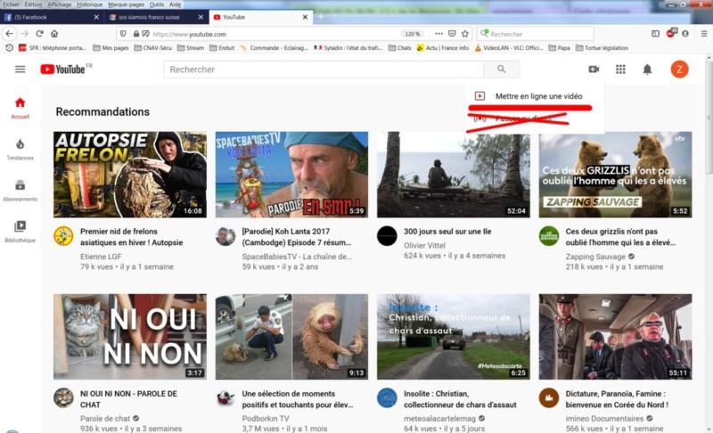 Tutoriel pour mettre une vidéo sur le site Une_vi11