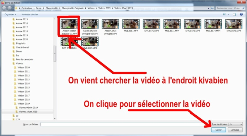 Tutoriel pour mettre une vidéo sur le site Une_vi13