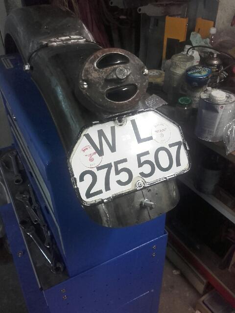 Remontage de Zundapp ks750 20190914