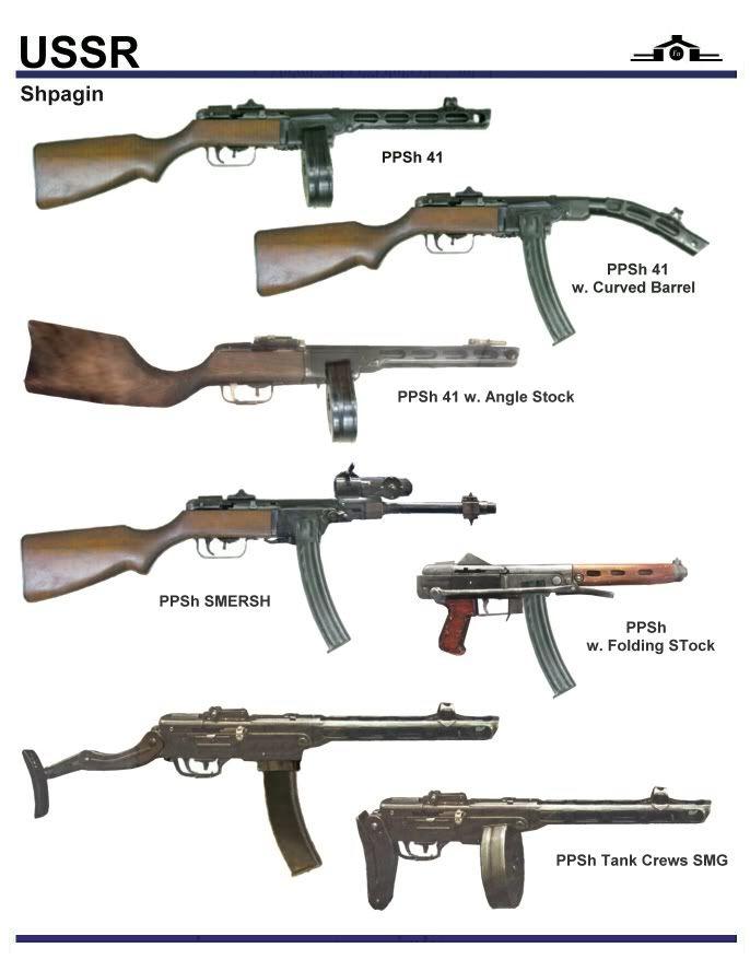 Ppsh41 canon courbe et autre 50c7bd10