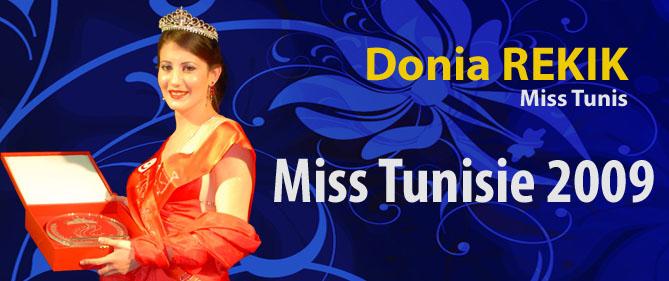 Miss Tunisia 2009 - Donia Rekik Slides10