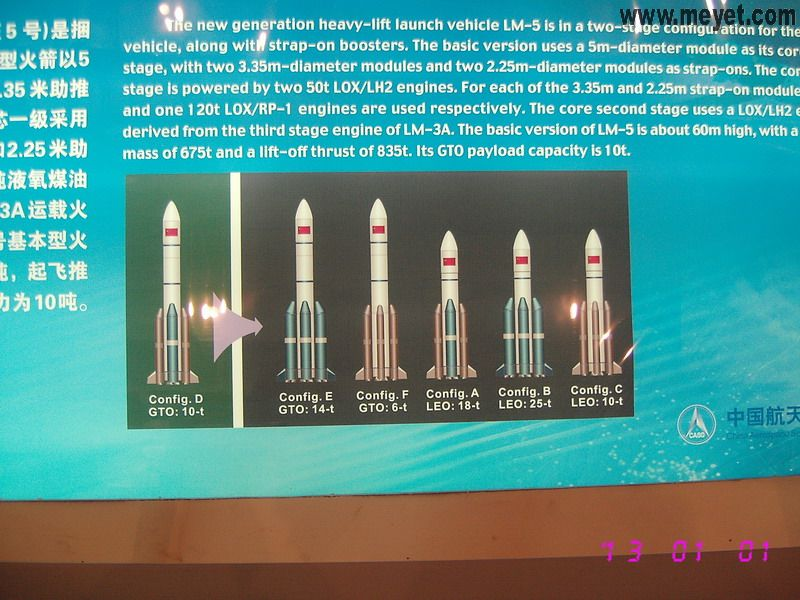 CZ-5 : Nouvelle génération de lanceur lourd - Page 3 20081111